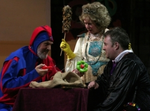 A scene from 'Poor Yorick' by Phil Mansell