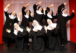 Another winning play  from last season – the musical comedy 'Nunsense' won the award for Best Overall Production. (PHOTO: PHIL MANSELL)